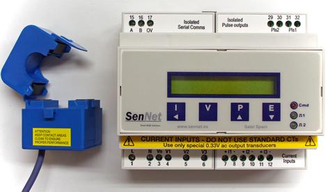 SenNet Optimal de Satel Spain para la monitorización de consumos