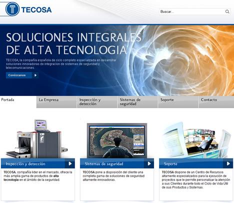 Nueva Web de TECNOSA