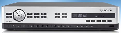 Grabador de Vídeo Digital (DVR) Serie 600 de Bosch