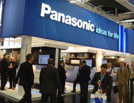 Stand en Feria de Panasonic