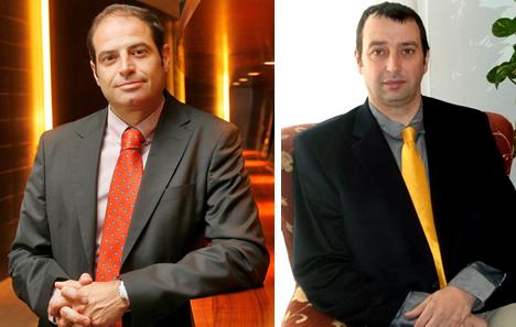 Javier Segovia y Enric Mira de Lutron