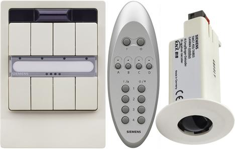 Nuevos controladores IR para domótica e inmótica KNX de Siemens