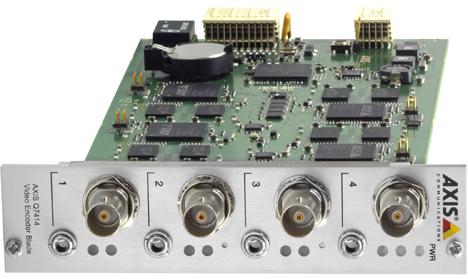 Nuevo codificador de vídeo AXIS Q7414