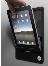 iRoom, soporte de pared y base cargadora para iPad