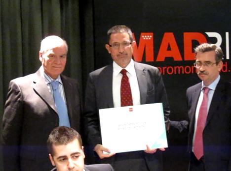 1ª mención en Instalación Inmótica de la Comunidad de Madrid para el Ayuntamiento de Rivas Vaciamadrid