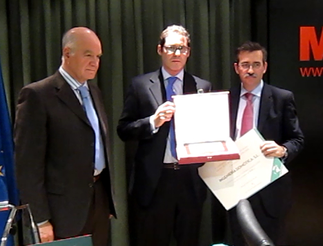 Premio de la Mejor Instalación Domótica de la Comunidad de Madrid para Ingeniería Domótica