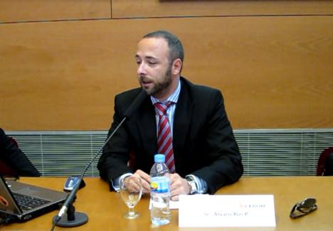 Alvaro Ros, Vicepresidente de CEDOM