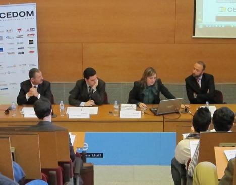 Detalle de la Mesa de la Asamblea General de CEDOM 2010
