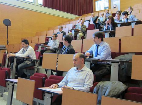 Público en la Asamblea General de CEDOM de 2011