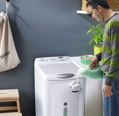 La lavadora dosee de fagor con dosificador autom tico de for Cual es el mejor detergente para lavadora