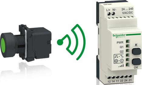 Nuevo pulsador inalámbrico de Schneider Electric