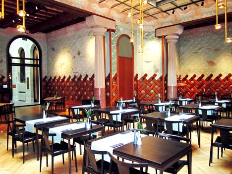 Salón Sirenas del Hotel España en Barcelona