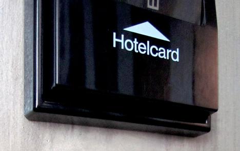 Tarjetero Acceso Habitaciones Hotel España en Barcelona
