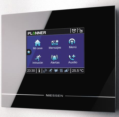 Detalle Interface Planner de Niessen de ABB