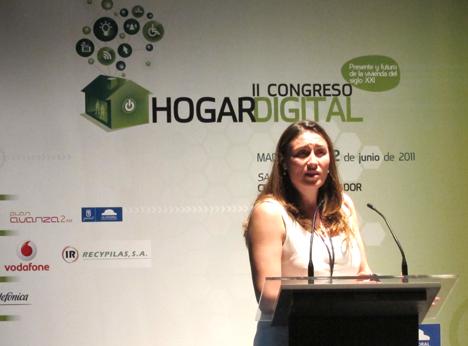 Ana Pérez de Ingenium en el II Congreso de Hogar Digital