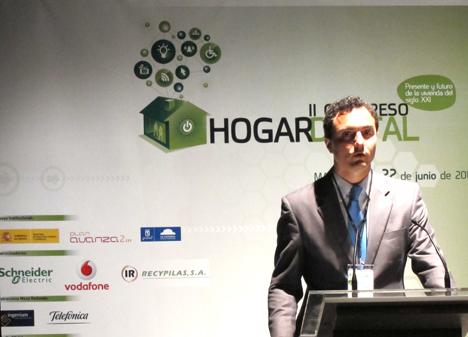 Antonio González San Isidro de Dalkia en el II Congreso de Hogar Digital