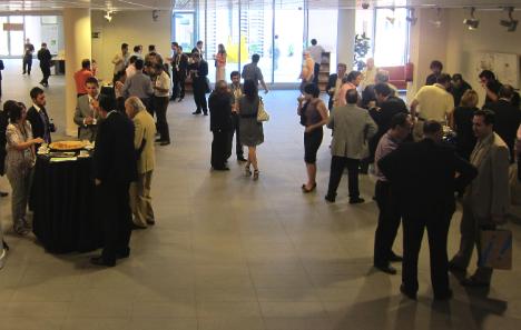 Café durnante el II Congreso de Hogar Digital