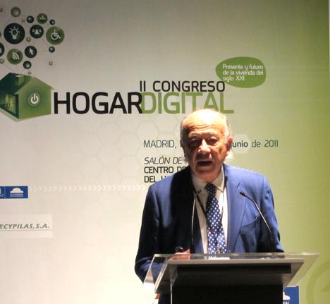 Daniel Hellín de Foresis en el II Congreso del Hogar Digital