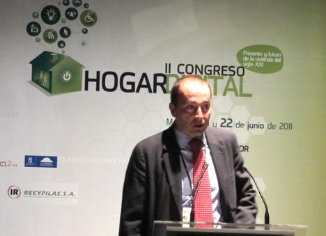 Gonzalo Olabarría de Fenitel en el II Congreso de Hogar Digital