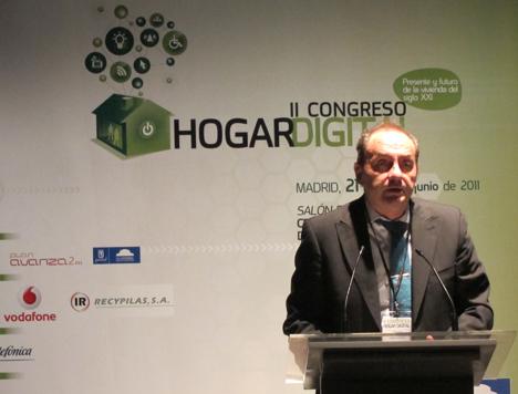 José Javier Medina de COITT en el II Congreso de Hogar Digital
