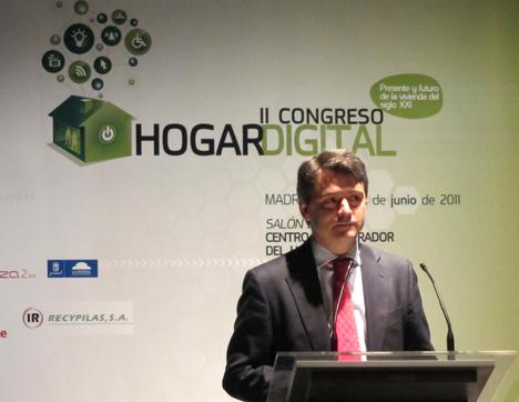 Juan Antonio Latasa de Vodafone en el II Congreso de Hogar Digital