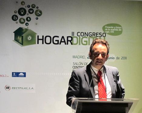 Juan Carlos Fernández de Telefónica en el II Congreso de Hogar Digital