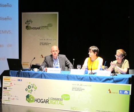 Mesa 2 en el II Congreso del Hogar Digital