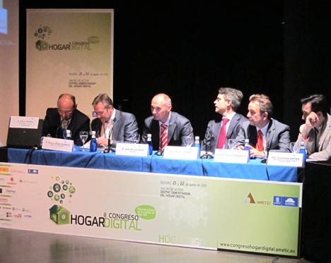 Mesa 6 en el II Congreso de Hogar Digital