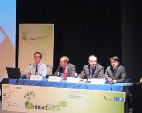 Mesa 7 en el II Congreso de Hogar Digital