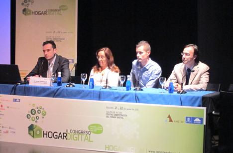 Mesa 8 en el II Congreso de Hogar Digital