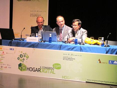 Mesa de conclusiones en el II Congreso de Hogar Digital