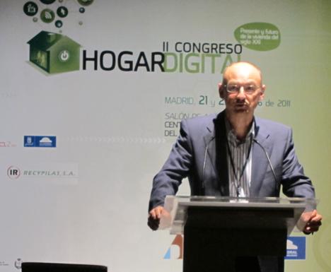 Miguel Roser de Telefónica en el II Congreso de Hogar Digital