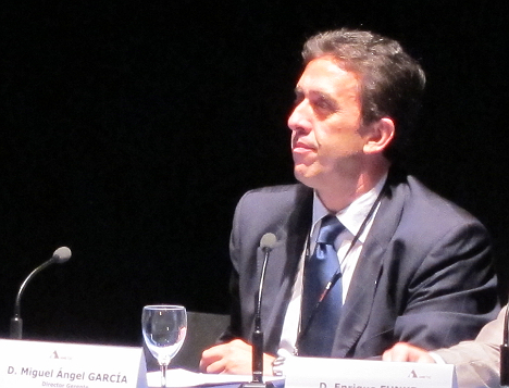 Miguel Ángel García Argüelles de Fenitel en el II Congreso del Hogar Digital