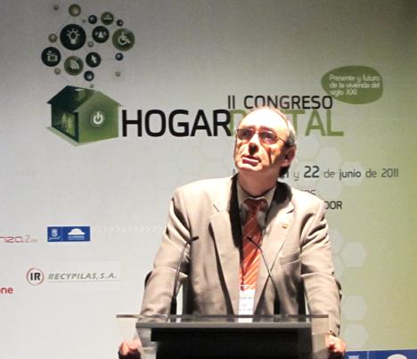 Pedro Luis Romero de SETSI en el II Congreso del Hogar Digital