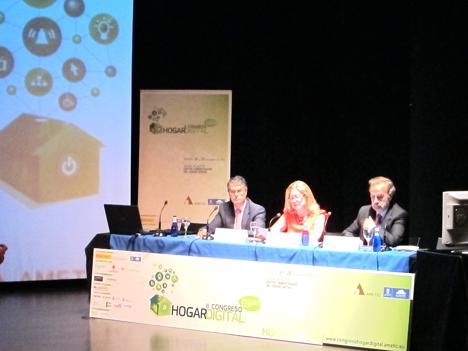 Inauguración del II Congreso Hogar Digital
