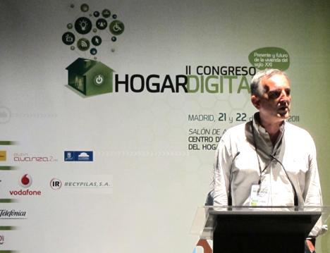 Ramón Cuerda de Securitas Direct en el II Congreso de Hogar Digital
