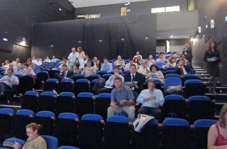 Sala en el II Congreso de Hogar Digital