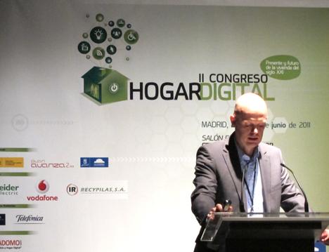 Stefan Junestrand de Leal & Junestrand Arquitectos en el II Congreso del Hogar Digital