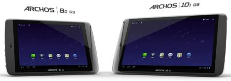 Nuevas tablets de Archos