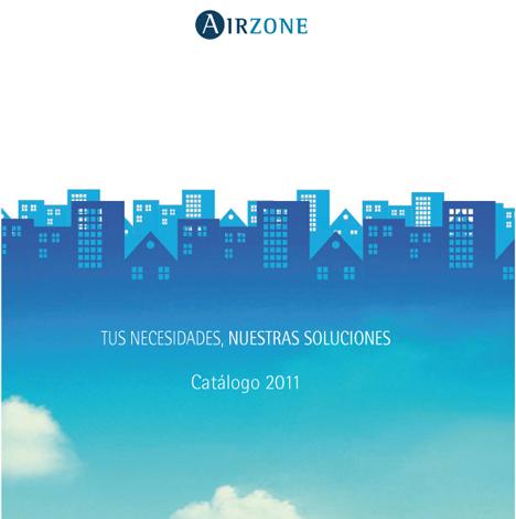 Portada del catálogo de Airzone