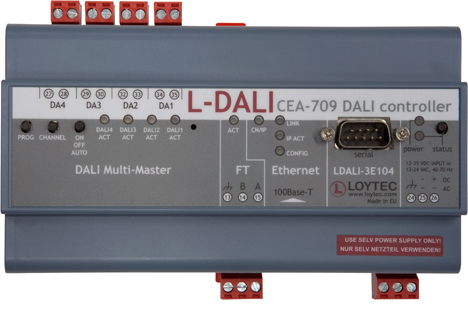 Nueva pasarela L-DALI de E-Controls