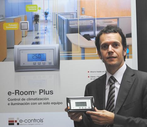Ramón Francesch, E-Controls, con e-Room Plus