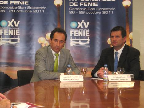 Firma del acuerdo para la celebración del Congreso de FENIE