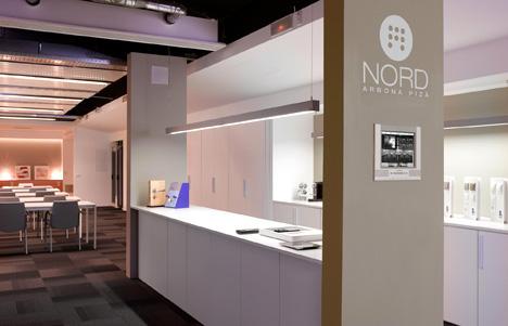 Barra central propuesta por Nord Arbona