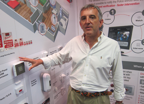 Ramón nos muestra una selección de los productos de Securitas Direct