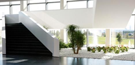 Interior del edificio de Actiu