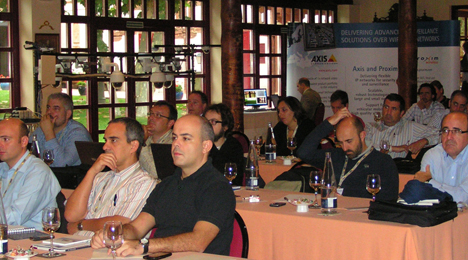 Conferencia de Partners de Axis Comunications