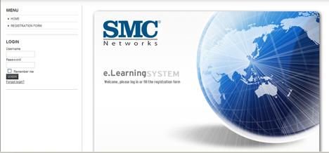 Nueva web de SMC Networks