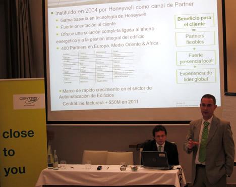 Presentación de Centraline de Hoenywell de Madrid.
