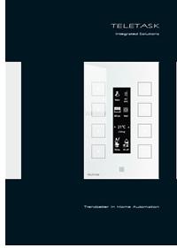 Catálogo de Teletask de Home Systems.